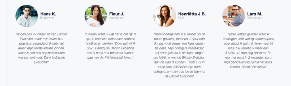 Bitcoin Evolution Succes