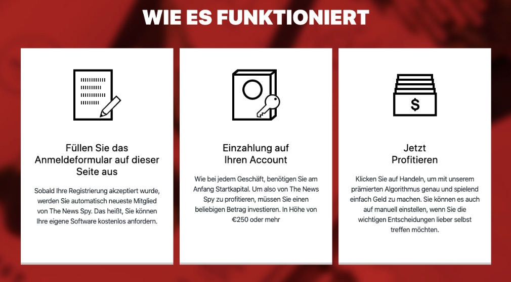 The News Spy Wie es funktioniert